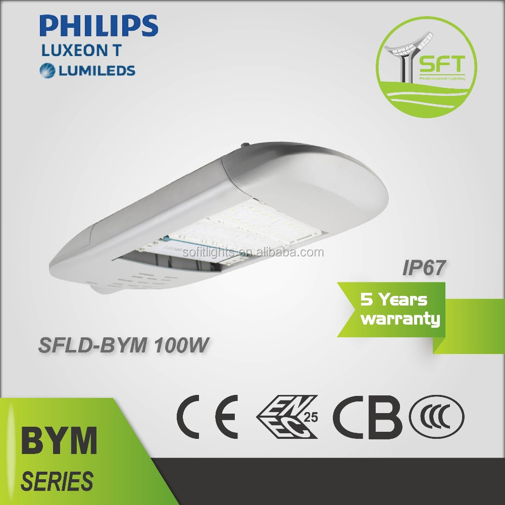 Low Consumption Dimmable 100-105 lm/w 12v 100w Led Street Light Led Lamp