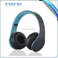 Headband Noise Cancelling stereo Bluetooth headphone Colorful Cheap Wireless Head Phones