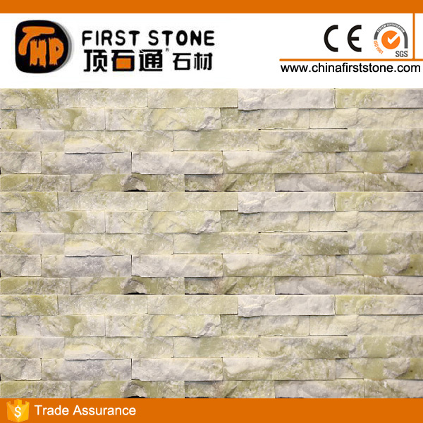 FSSW-388 Light Green Marble Interior Decorative Wall Covering Panels