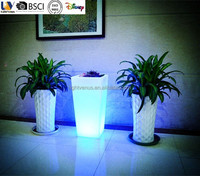 2015 New LED Planter Pot Home And Garden Decorative Flower Pot