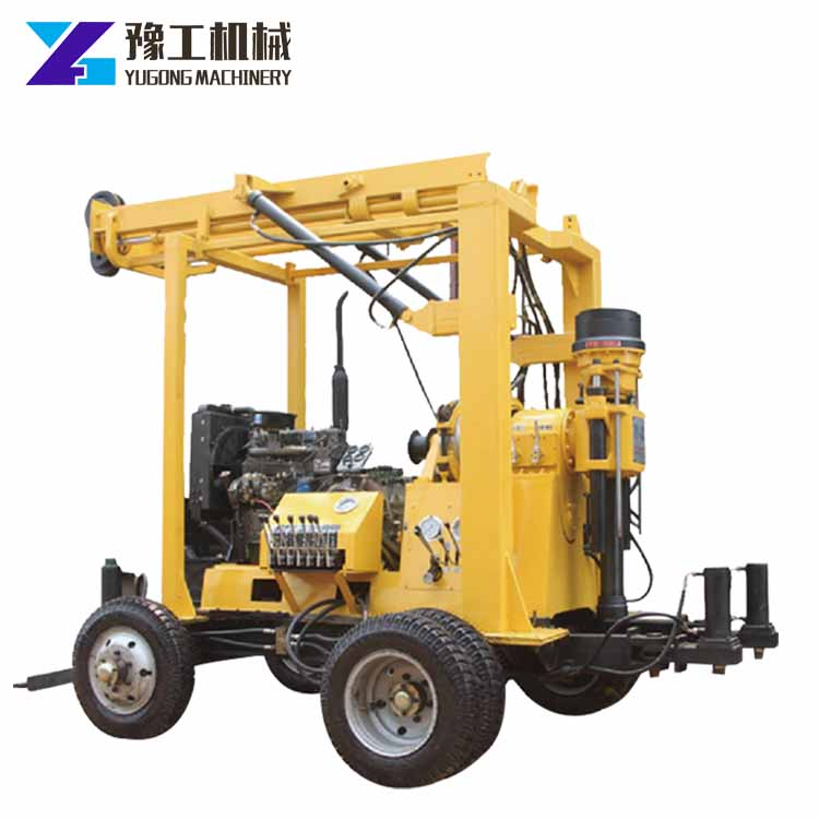 High quality geological exploration surface diamond core drilling rig with top quality