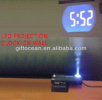 Wall Digital Led Projector Clock Digital Led Projection