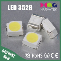 0.1W 30mA 6-10 lm 3528 SMD LED Specifications