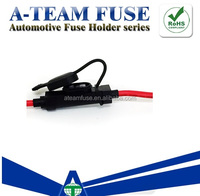 High Quality auto micro fuse type 18 AWG fuses holder