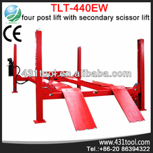Hot sale and original LAUNCH TLT440EW electric car lift jack bridge 220v outdoor