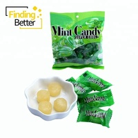 Halal Bulk Extra Strong Mint Clearly Fruit Hard Candy Sugar Fresh Breath Xylitol Mint Candy