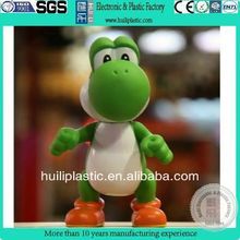Super mario plastic cartoon figure/3d pvc figurine for home collection/realistic pvc animal figurines