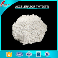 Chemical name Tetramethyl thiuram disulfide Rubber accelerator TMTD cas.no 137-26-8 from company in China