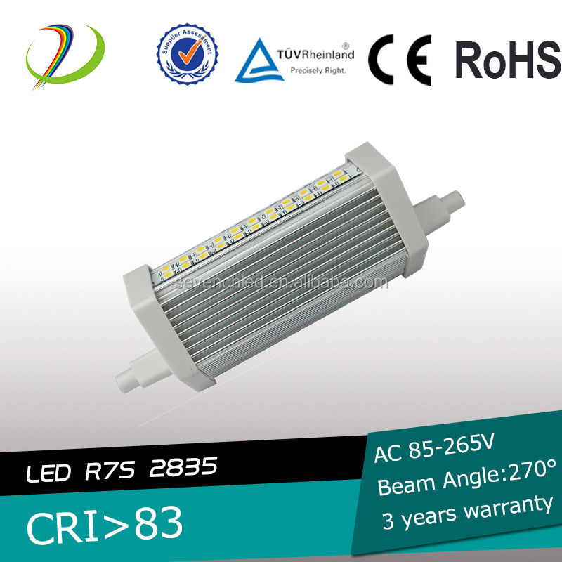 Retrofit Ceramic Dimmable Lamp 15W 17W 30W 118mm led r7s 20w, 2835 led r7s