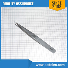 ESD stainless steel coating tweezers w/ or w/o print