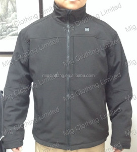 Battery heated jacket far infrared
