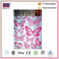 Colorful Butterfly Removable Adhesive Vinyl Wall Wood Stickers Home Decor