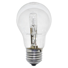 ECO Halogen A60 golf round ball CLEAR bulb - energy saving halogen bulb - halogen class c lamps -light bulb