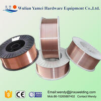 China low price manufacture copper coated mig spool weld solder wire