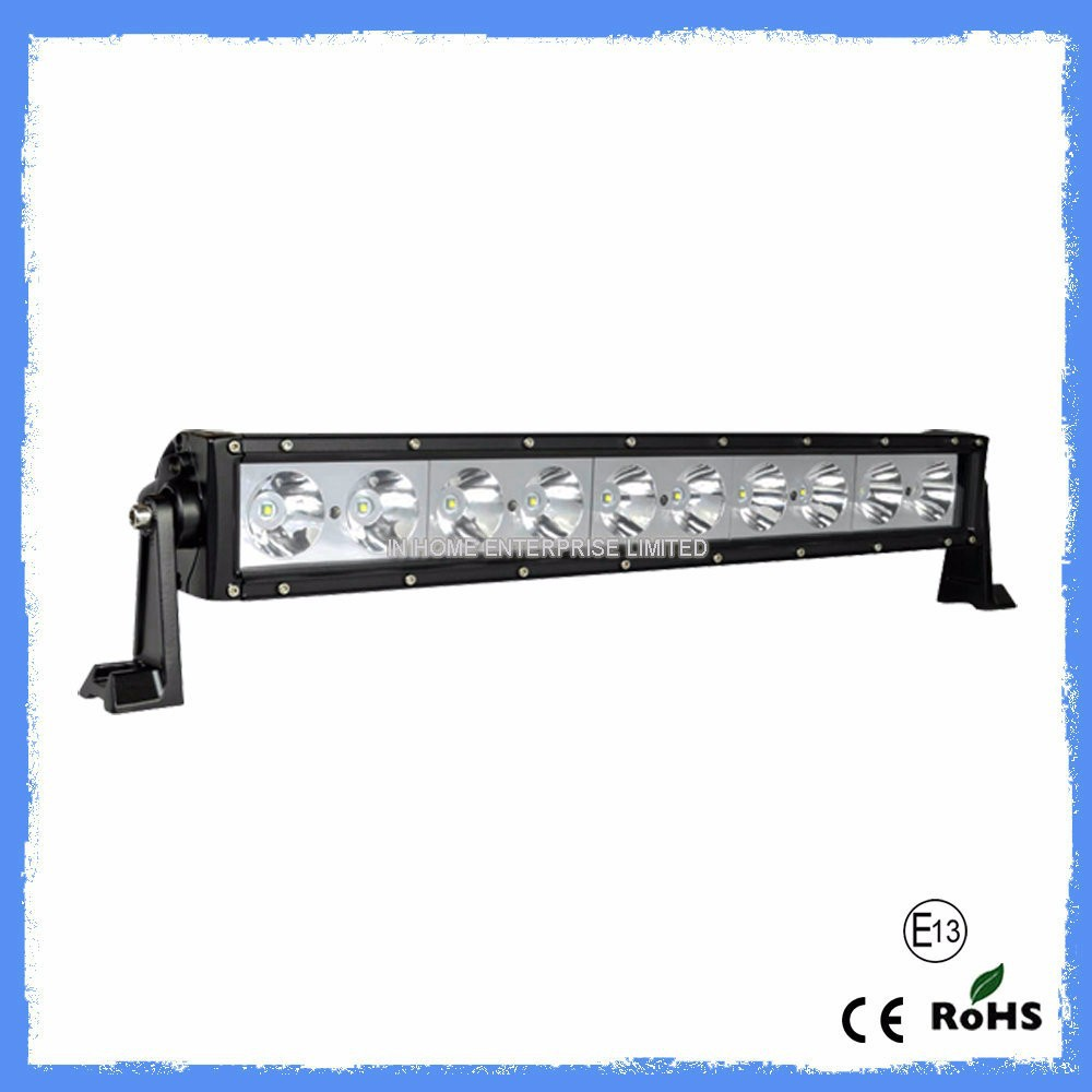 "LW Super Bright 17.2""100W off road led light bar , waterproof,led off road light bar for 4x4,SUV,ATV,4WD,truck, CE,IP67,RoHs"