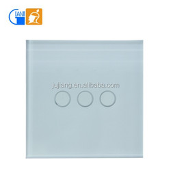 Touch light switch 220v touch screen waterproof JJ-TS-03