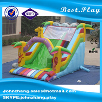 0.55mm PVC HOT sales king of lion theme inflatble slide, inflatable slide For adults, HOT sales inflatable slide For kids