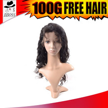 Factory price unprocessed marilyn monroe wig, thick human hair wig, 40inch lace wig hair