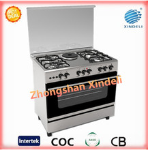 Roast beef 2 hotplates easy operating cooking appliance electric oven with tempered glass cover