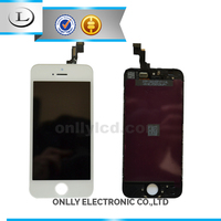 mobile phone spare parts alcatel for iphone 5s,lcd assembly for iphone 5s