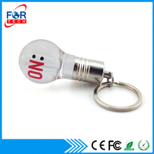 Shinning Light Bulb Shape Printing Logo USB Flash Driver