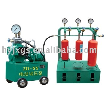 extinguisher cylinder hydraulic pressure test device/extinguisher cylinder hydrostatic pressure test device