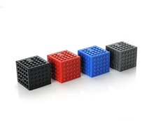 Gift Promotional Mini cube block speaker wireless USB bluetooth speaker