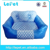 low price low MOQ oval fluffy pet dog/cat bed