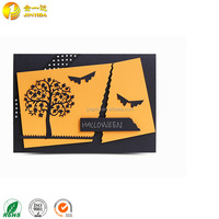 Good quality handmade fancy gifts halloween party invitation card