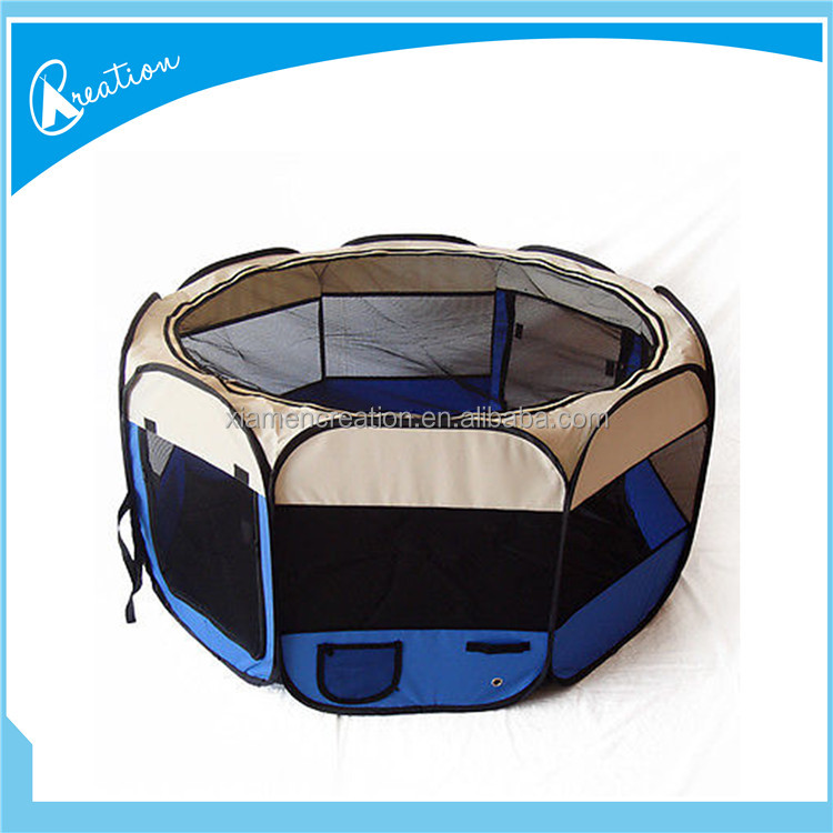 OEM silk printing dog pet puppy fabric portable carrier crate kennel