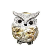 Home decorative arts and crafts resin owl statue