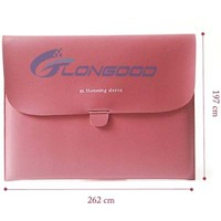 Cute Pouch Bag Buckles Sleeve PU Leather Cover Case for iPad 2 3