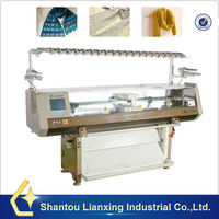 Automatic scarf knitting machine