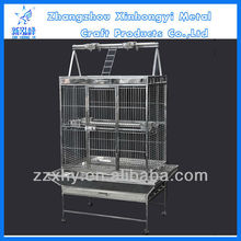 Stainless Steel Fastigiate Play Top Parrot Cage