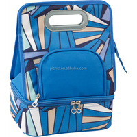 Wholesale Blue Cheap Insulated Lunch Bag