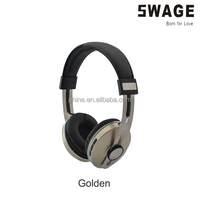 PH-B931 gold color wireless bluetooth headphone, silver color bluetooth headset