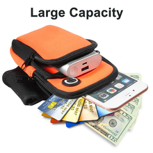 2018 New Outdoor Sports Running Arm Bag for Small Carry-on Objects,Mobile Phone Accessories