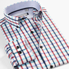 European stylish 100% cotton check new model latest shirt designs for men 2016