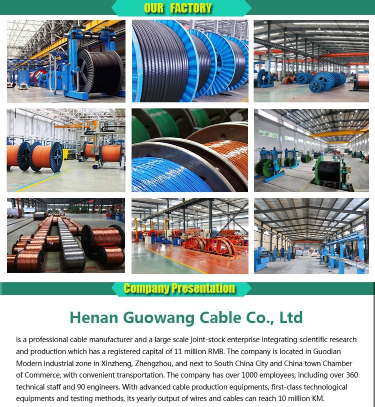 IEC standard Copper conductor 3C 50mm2 XLPE/SWA/CTS 11KV medium voltage power cable with factory price and without delay