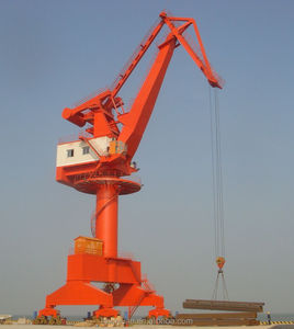 Single Jib and Four Link Type Harbour/Shipyard Portal crane 50tons