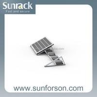 50KW solar panel mounting brackets / complete photovoltaic system for home use