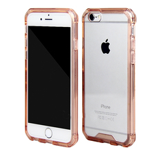 protective mobile phone crystal clear hard cover case for iphone 6 plus
