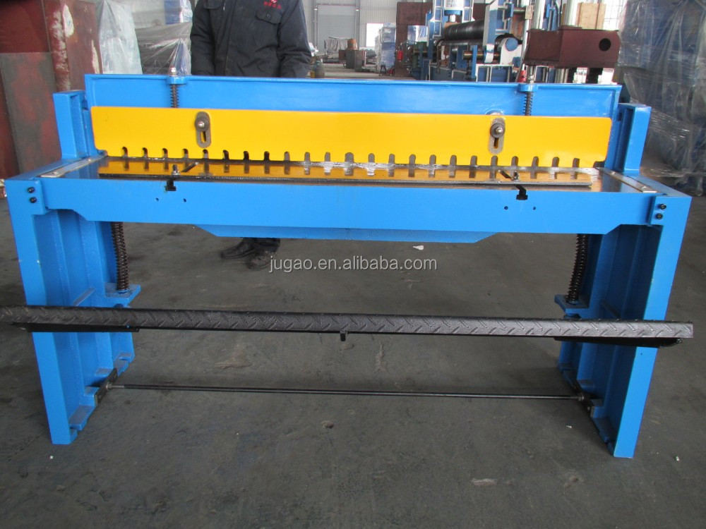 metal cutting machine, portable steel plate cutter, manual guillotine shear, Hydraulic metal sheet cut