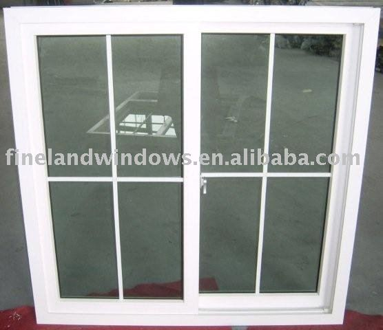 UPVC sliding Window and door with grill