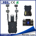 portable led lighting system High power 144w rechargeable led remote lights for railway , tunnel