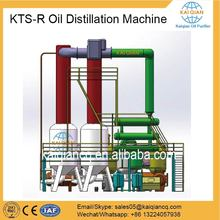 Continuous Used Engine Oil Refining Machine