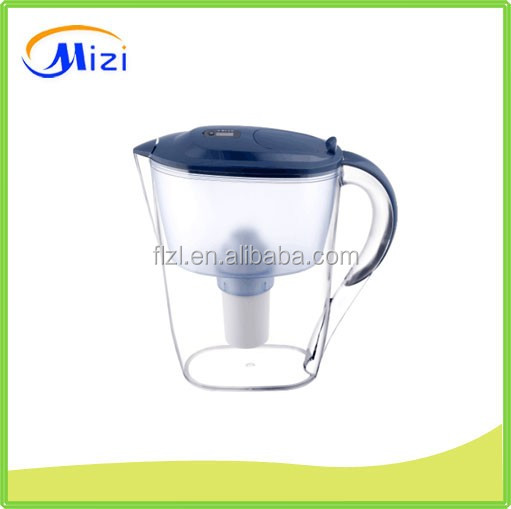 2.6L 3.5L activated carbon water jug /water pitcher /water filter