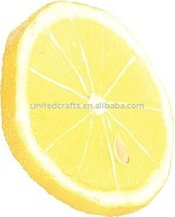 2011 NEW ARRIVAL Hot-Selling Natural Popular artificial lemon slice