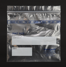 Hospital use biodegradable plastic ziplock medical bag,small parts packaging