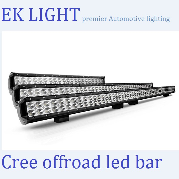 2014 CREE 4x4 led light bar 50 inch led light bar for trucks Atv SUV